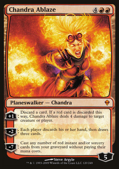 Chandra Ablaze